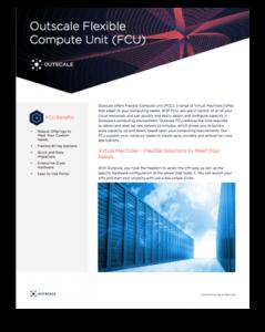 cloud computing flexible compute unit